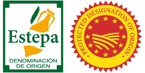 Protected Designation Origin Estepa seal
